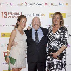 José María Íñigo en los Premios de la Academia de Televisión