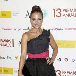 Paula Echevarría en los Premios de la Academia de Televisión