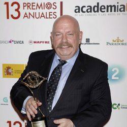 José María Íñigo premiado por la Academia de Televisión