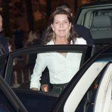 Carolina de Mónaco en la despedida de solteros de Alberto y Charlene