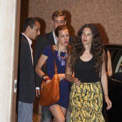 Tatiana Santo Domingo, Alex Dellal y Carlota y Pierre Casiraghi