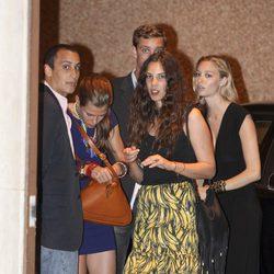 Pierre y Carlota Casiraghi, Alex Dellal, Beatriz Borromeo y Tatiana Santo Domingo