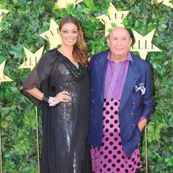 Lucía Hoyos y Francis Montesinos en la Fiesta del 25 Aniversario de 'Elle'