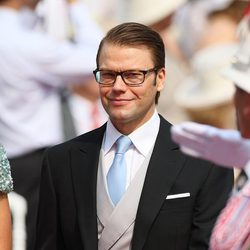 El Príncipe Daniel de Suecia en la boda de Alberto y Charlene