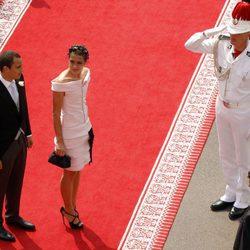 Alex Dellal y Carlota Casiraghi en la boda de Alberto y Charlene de Mónaco