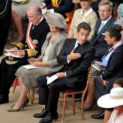 Nicolas Sarkozy en la boda de Alberto y Charlene de Mónaco