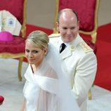 Alberto y Charlene de Mónaco ya son marido y mujer
