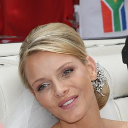 Charlene Wittstock, recién convertida en Princesa de Mónaco