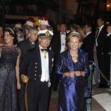 El Rey Carlos Gustavo de Suecia y la Reina Paola de Bélgica