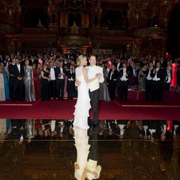 Cena de gala tras la boda real de Alberto de Mónaco y Charlene Wittstock