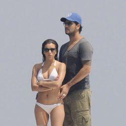 Eva Longoria en bikini con Eduardo Cruz