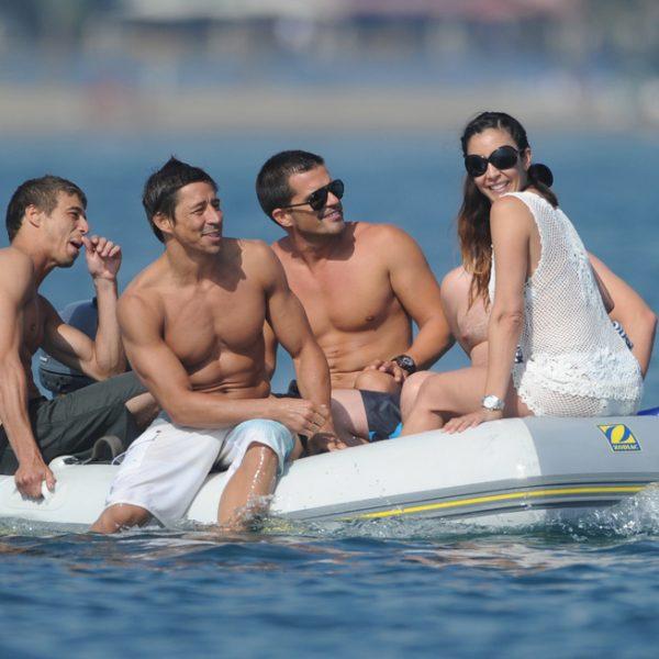 Eva Longoria y Edu Cruz, vacaciones en Marbella