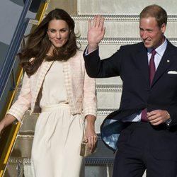 Los Duques de Cambridge aterrizan en Prince Edward Island