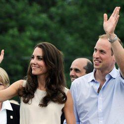 Guillermo y Catalina de Cambridge en Prince Edward Island