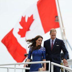 Los Duques de Cambridge en Québec