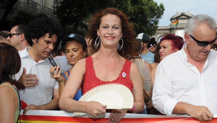 Carla Antonelli en el Orgullo Gay de Madrid