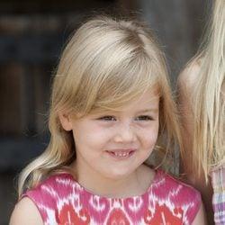 La Princesa Alexia de Holanda durante sus vacaciones en Italia