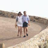 Carla Bruni y Nicolas Sarkozy durante sus vacaciones en la Costa Azul