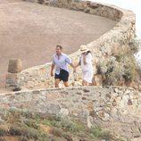 El Presidente y la Primera Dama de Francia de vacaciones en la Costa Azul