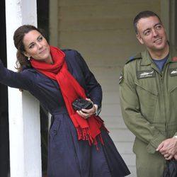 La Duquesa de Cambridge despide a su marido en Dalvay by-the-Sea