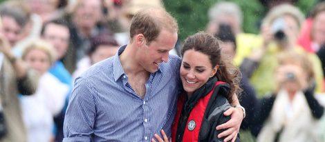 Los Duques de Cambridge, cariñosos en Prince Edward Island