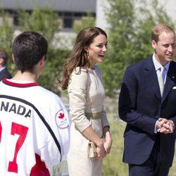 Los Duques de Cambridge en Yellowknife
