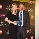 Carlos y Amparo Larrañaga en los Premios Estrella de Oro