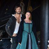 Hugo Silva e Ingrid Rubio en 'El corazón del océano'