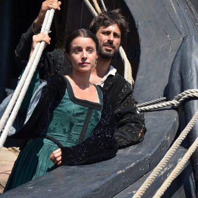 Ingrid Rubio y Hugo Silva, pareja protagonista de 'El corazón del océano'