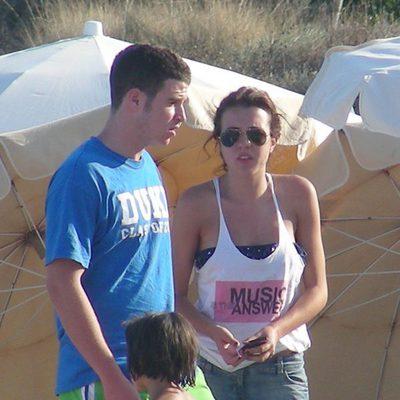 Álex Lecquio y Andrea Guasch en Ibiza