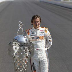 Dan Wheldon, campeón de IndyCar Series