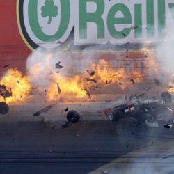 Trágico accidente de Dan Wheldon en el circuito de las Vegas