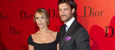 Rafa Medina y Laura Vecino en la fiesta Dior
