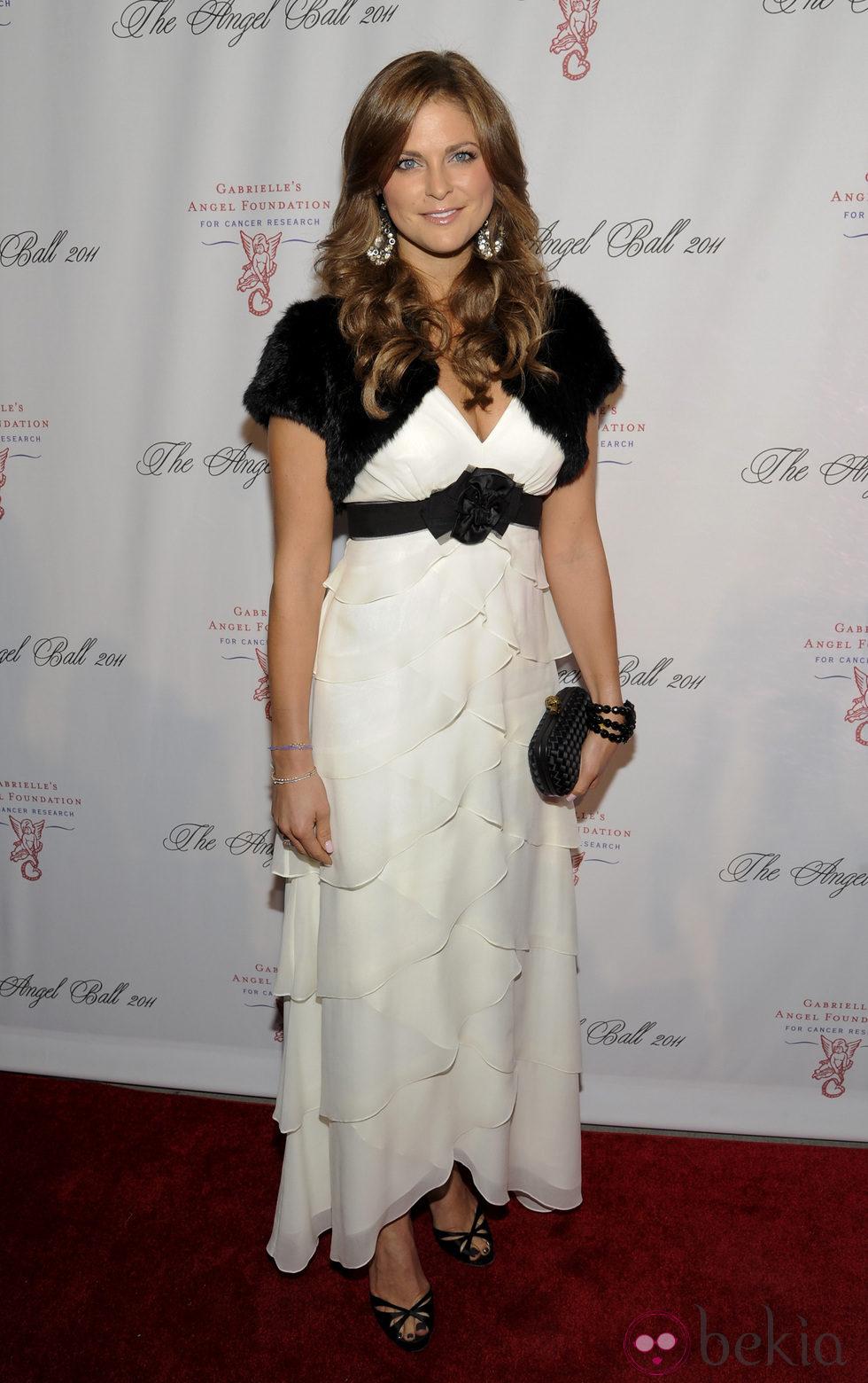 Magdalena de Suecia en la gala 'Angel Ball' contra el cáncer en Nueva York