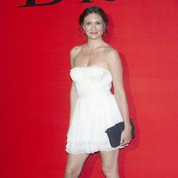 María Botto en la fiesta Dior