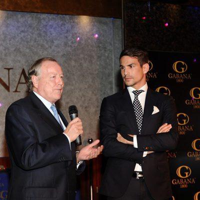 José María Álvarez del Manzano y José María Manzanares en los premios Páginas de la Historia