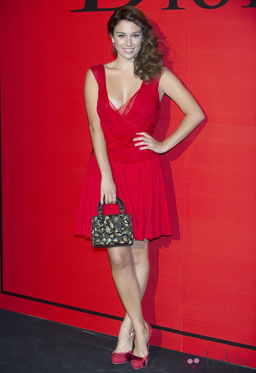 Blanca Suárez en la fiesta Dior