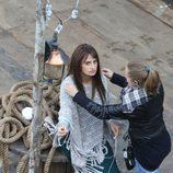 Penélope Cruz en un momento del rodaje de 'Venuto al mondo' en Roma