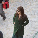Penélope Cruz en un descanso del rodaje de 'Venuto al mondo' en Roma