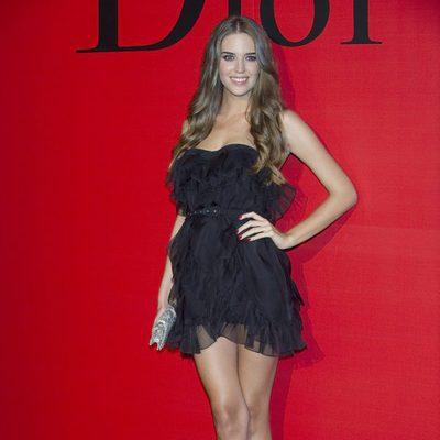 Clara Alonso en la fiesta Dior