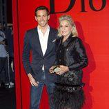 David Meca y Beatriz de Orleans en la fiesta Dior