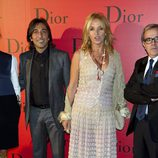 Antonio Carmona y Mariola Orellana en la fiesta Dior