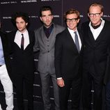 Kevin Spacey, Penn Badgley, Zachary Quinto, Simon Baker, Paul Bettany and Stanley Tucci en la premiere de 'Margin Call' en Nueva York