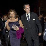 Jaime de Marichalar y Marisa de Borbón en la fiesta Dior
