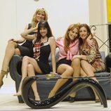 Carla Hidalgo, Beatriz Rico, Elena Martín e Isabel Pintor estrenan 'Las novias de Travolta'