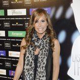 Lara Dibildos en el estreno de 'Las novias de Travolta'