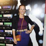 Mar Regueras en el estreno de 'Las novias de Travolta'