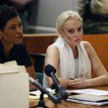 Lindsay Lohan en el juzgado