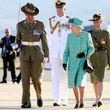 La reina de Inglaterra y el duque de Edimburgo en Australia