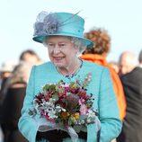 La reina de Inglaterra en Australia